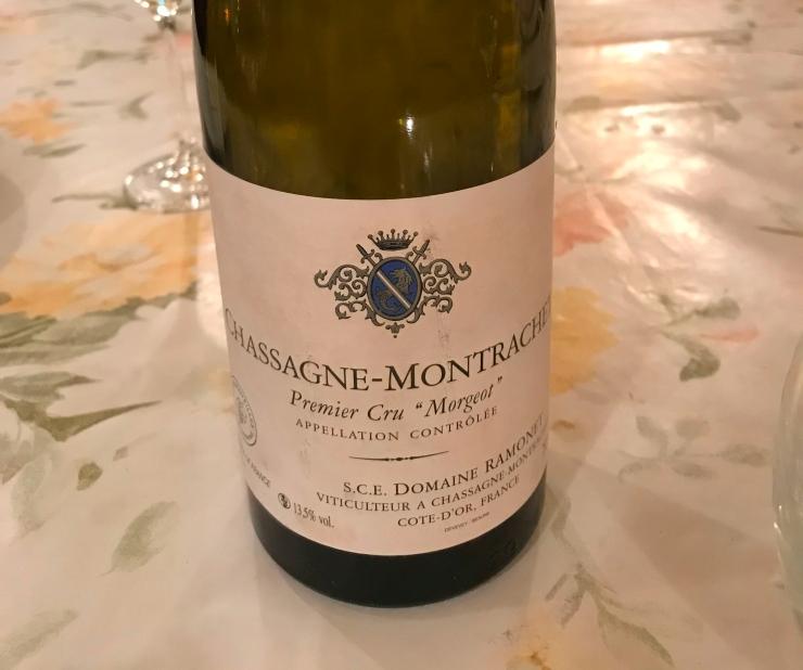 """Chassagne-Montrachet 1er Cru """"Morgeot"""" 2013 - Domaine Ramonet"""