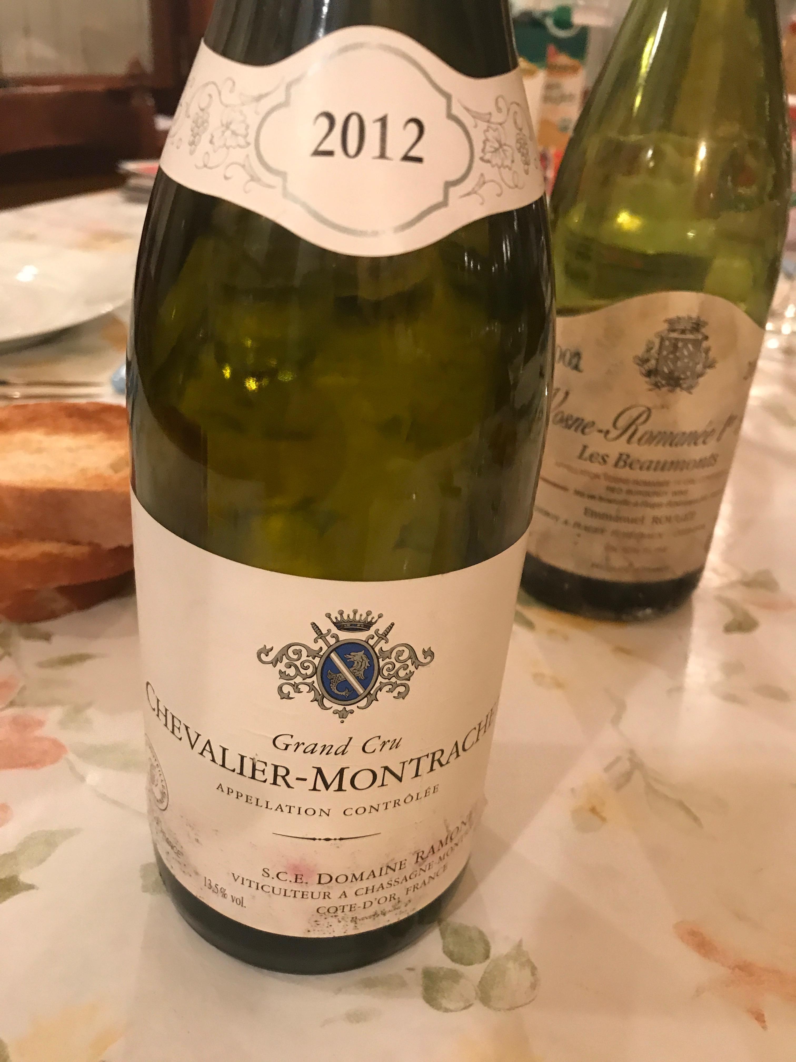 Chevalier Montrachet 2012 RAMONET