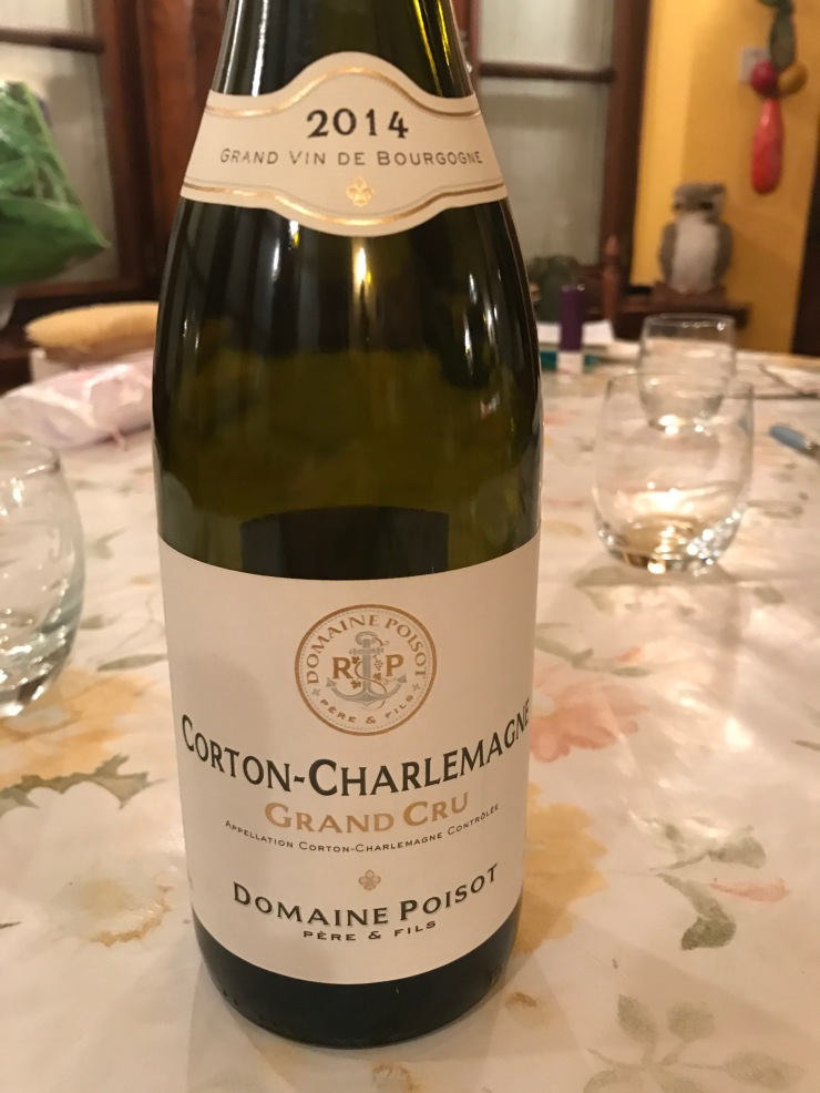 Corton Charlemagne POISOT 2014