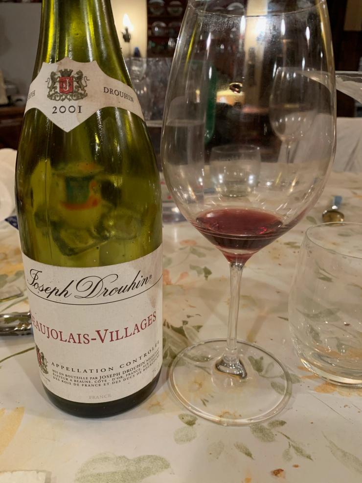 Beaujolais-Villages 2001 - Joseph Drouhin