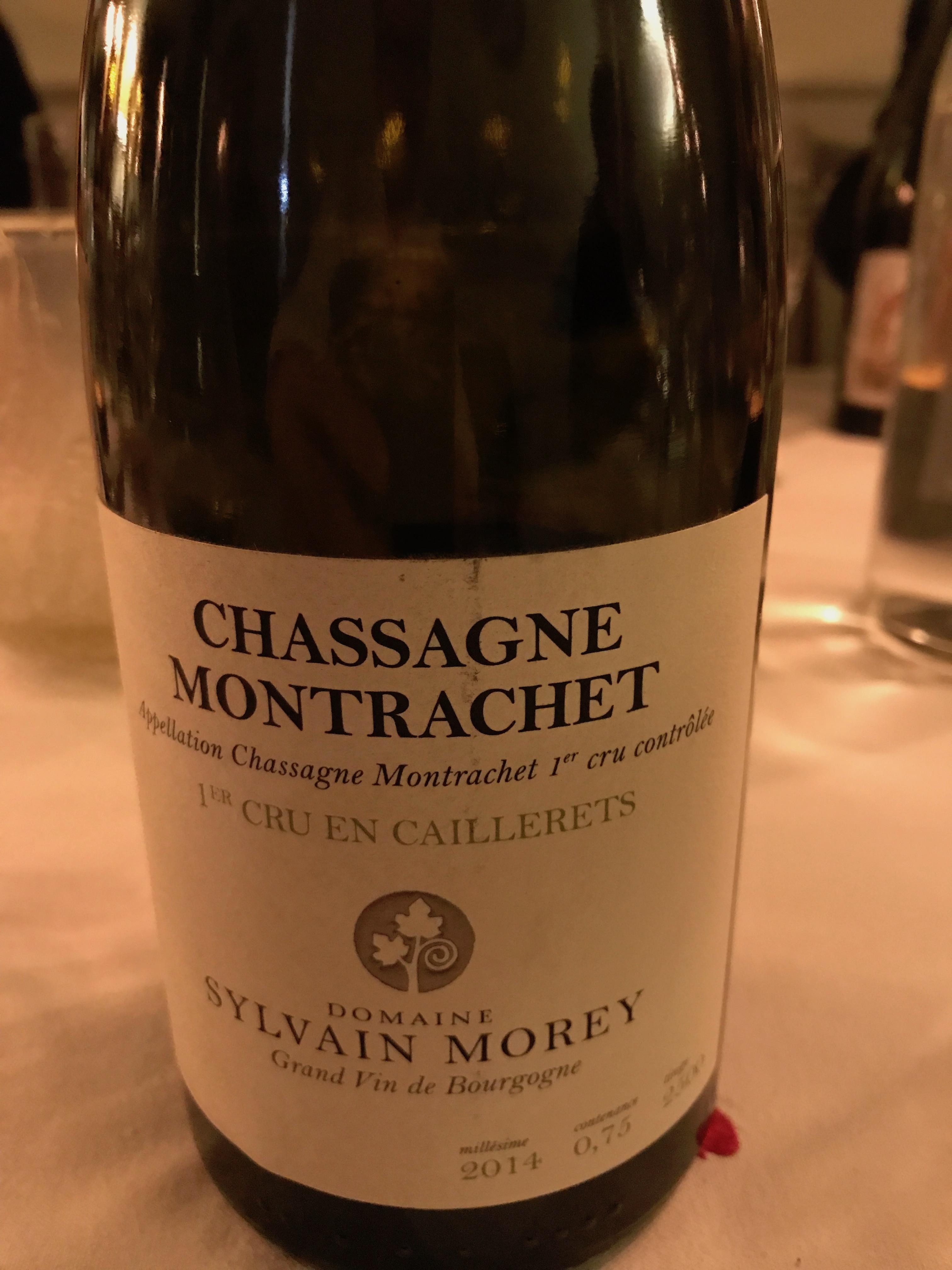 """Chassagne-Montrachet 1er Cru """"En Caillerets"""" 2014 - Domaine Morey"""