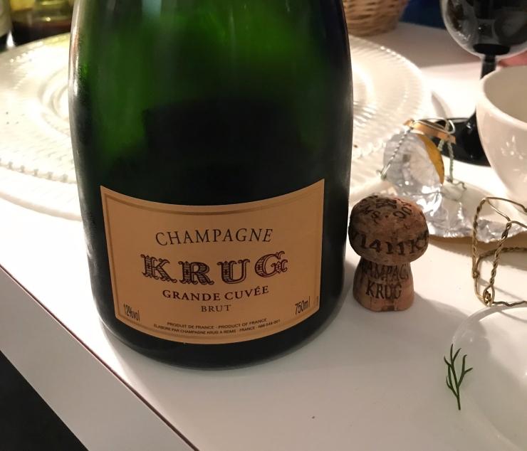 Champagne Krug Grand Cuvée Brut