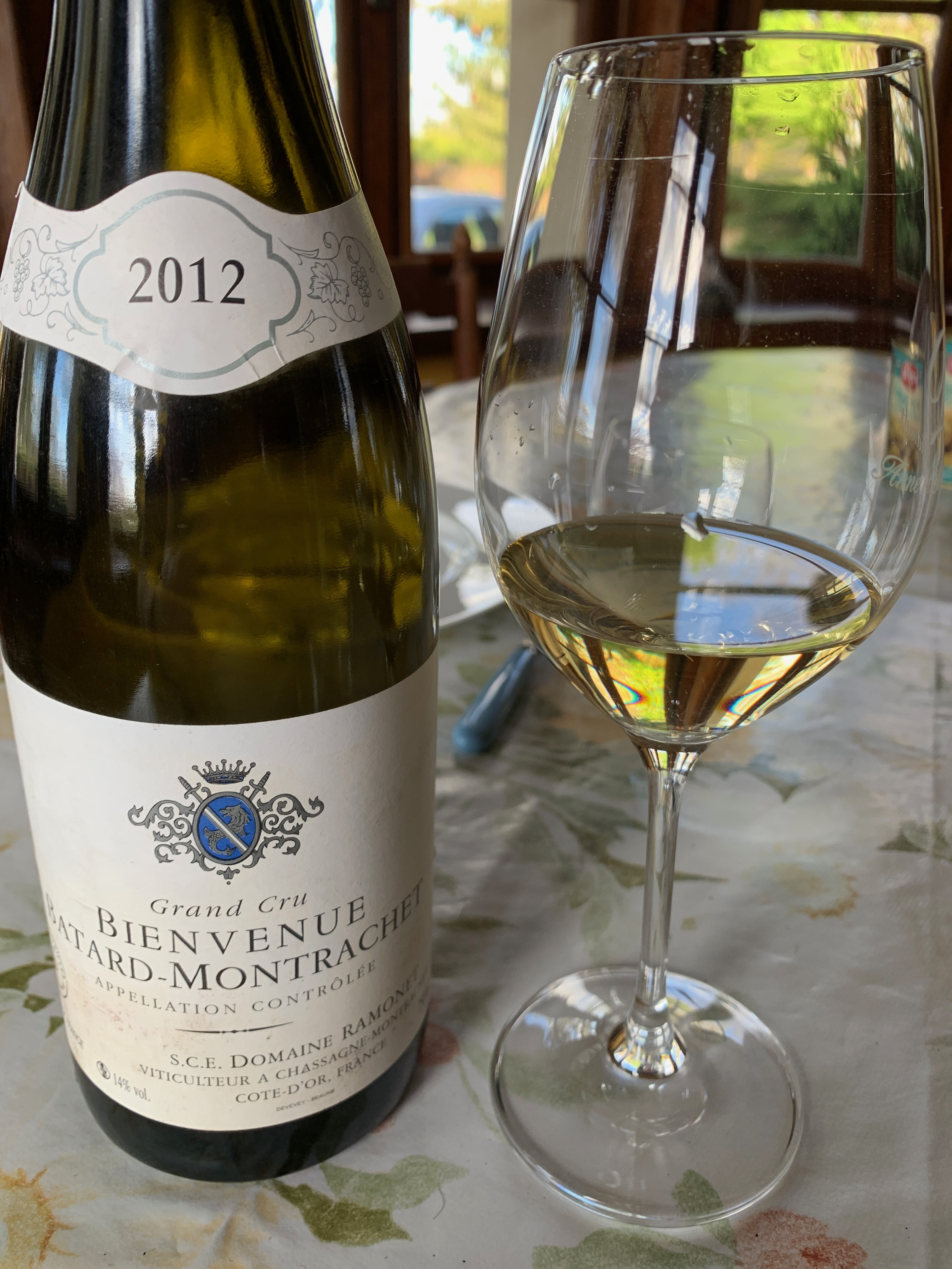 Bienvenue Batard Montrachet 2012