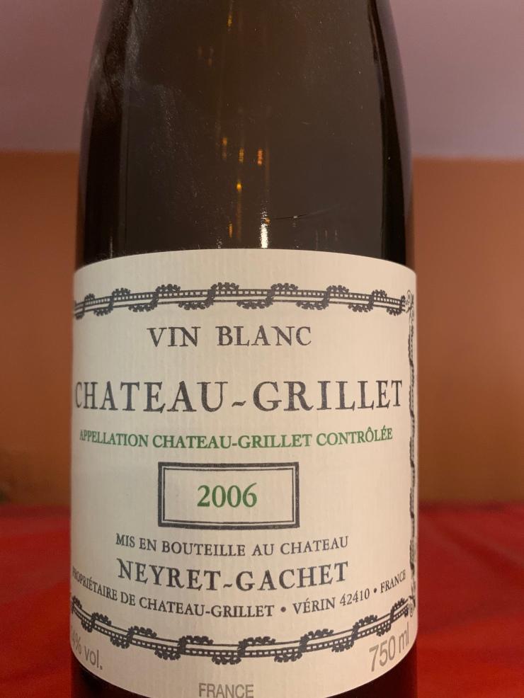 Chateau Grillet 2006 Neyret Gachet