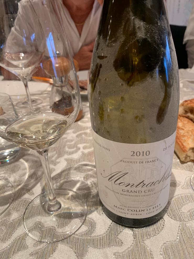 Montrachet 2010 Colin