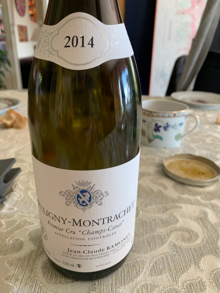 Puligny Montrachet Champs Canet 2014