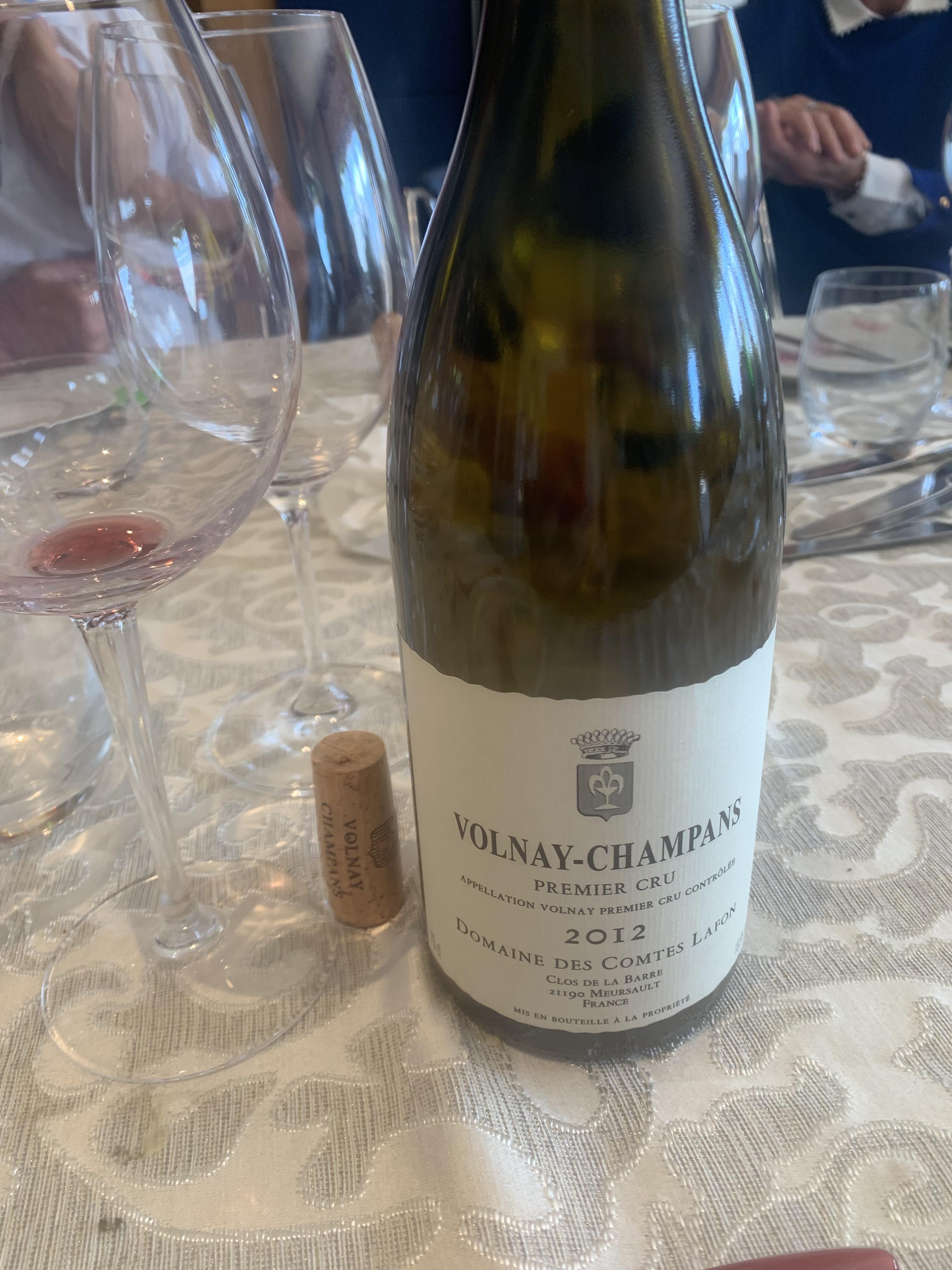 Volnay-Champans 1er Cru 2012 Lafon