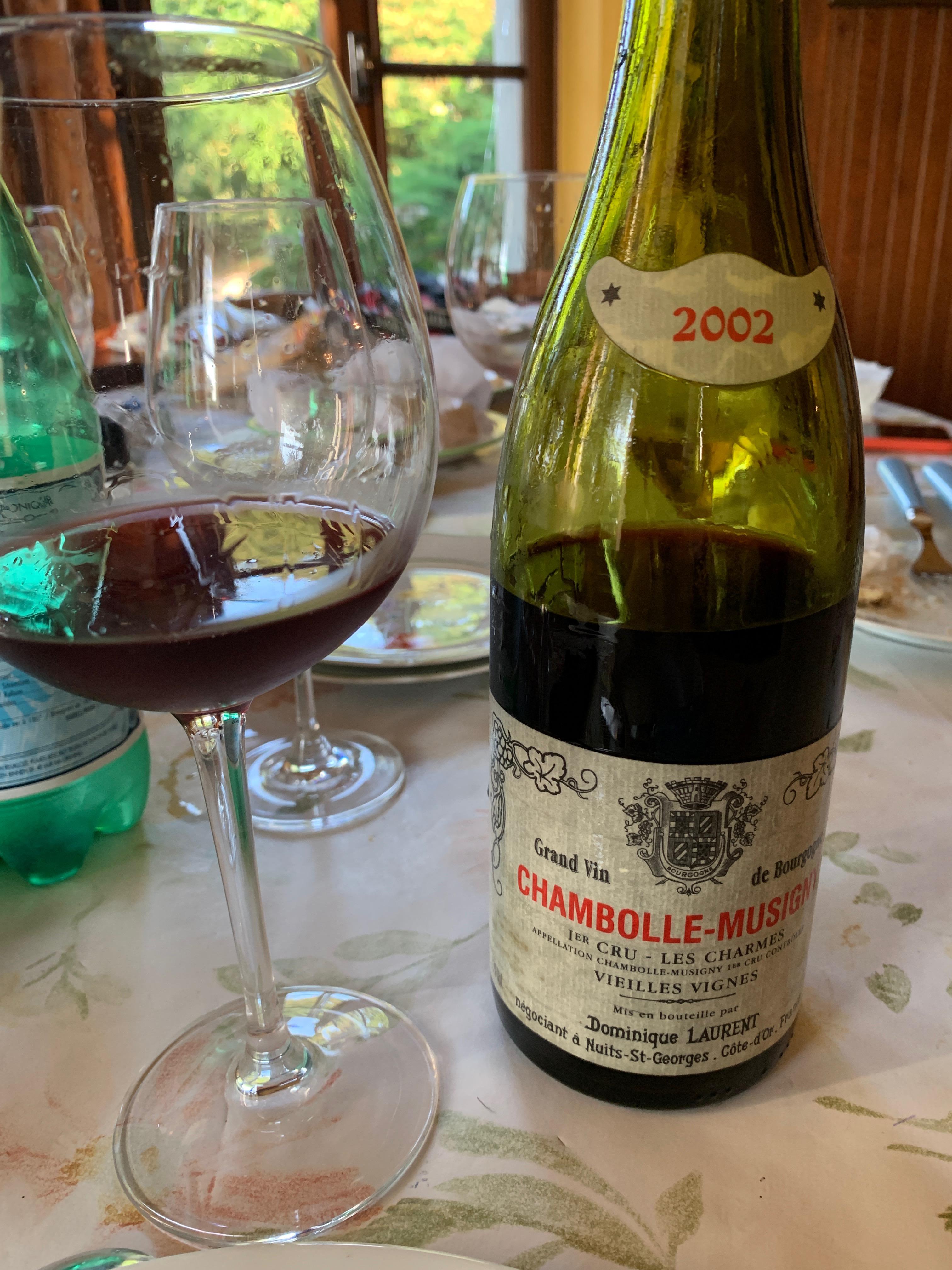 Chambolle-Musigny Premier Cru Les Charmes 2002 - Domaine Laurent