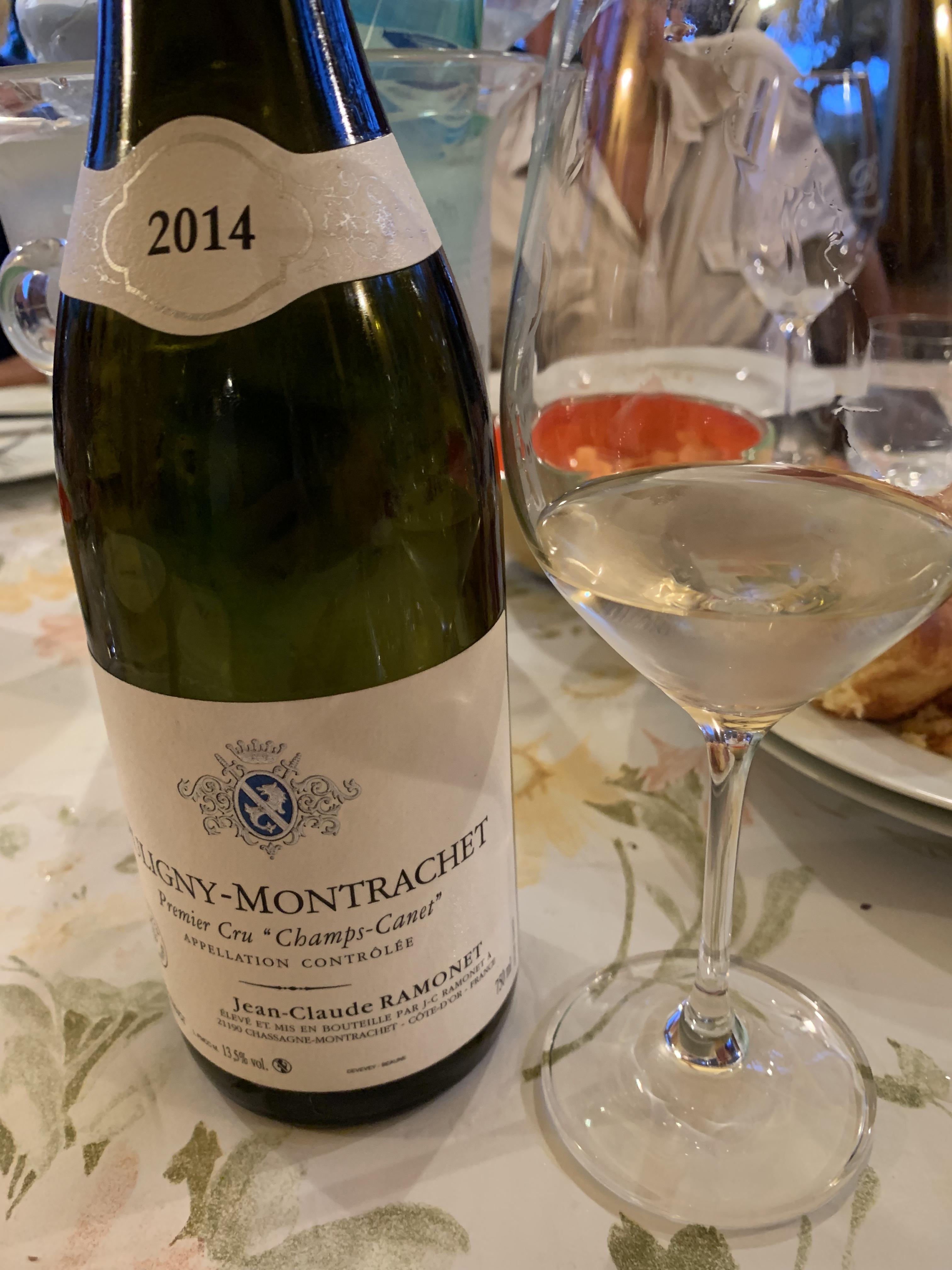 Puligny Montrachet 2014 1er Cru Champs Canet Ramonet
