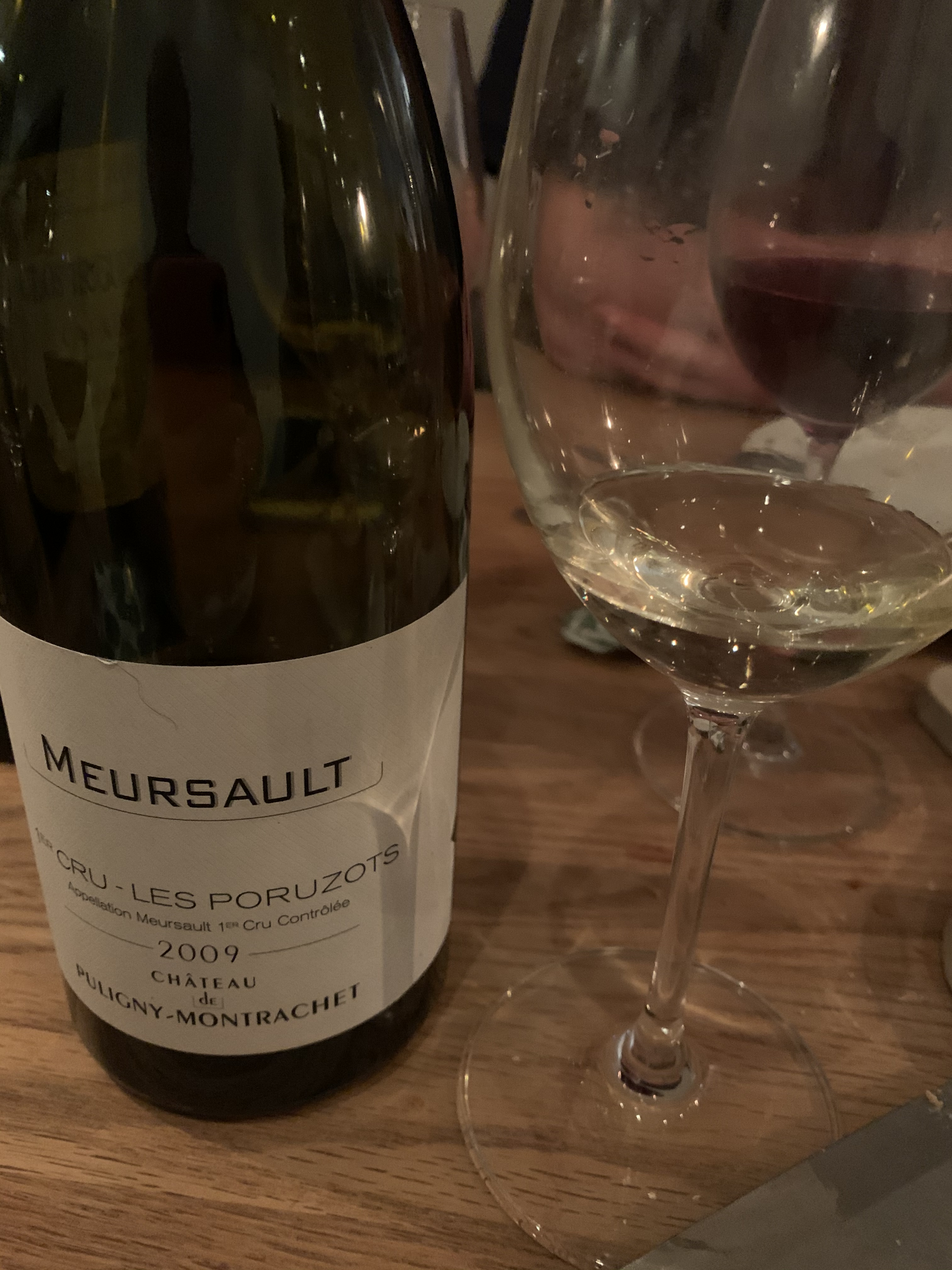 Meursault Premier Cru Les Poruzots 2009