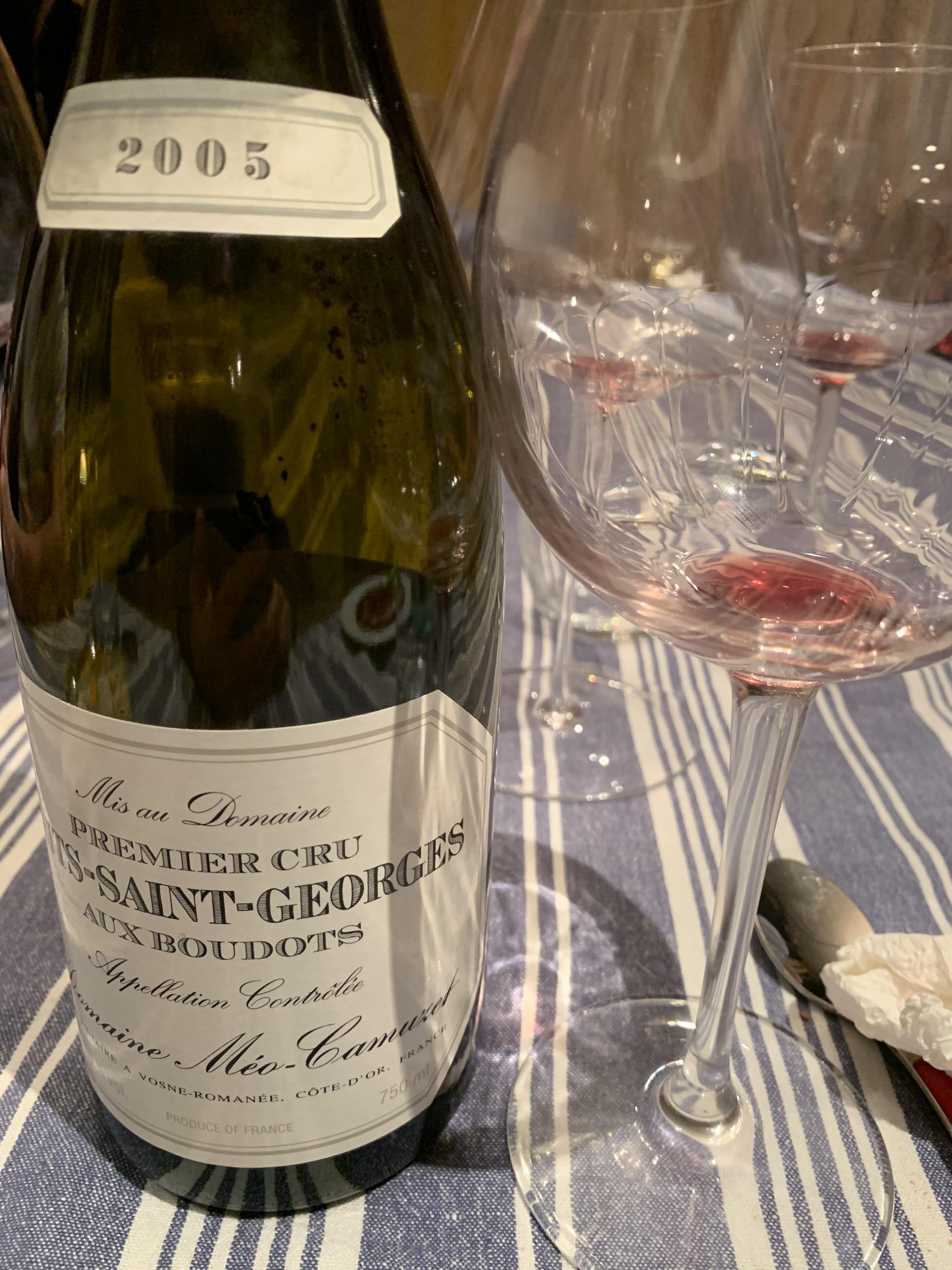 Nuits-Saint-Georges Premier Cru Aux Boudots 2005 - Méo