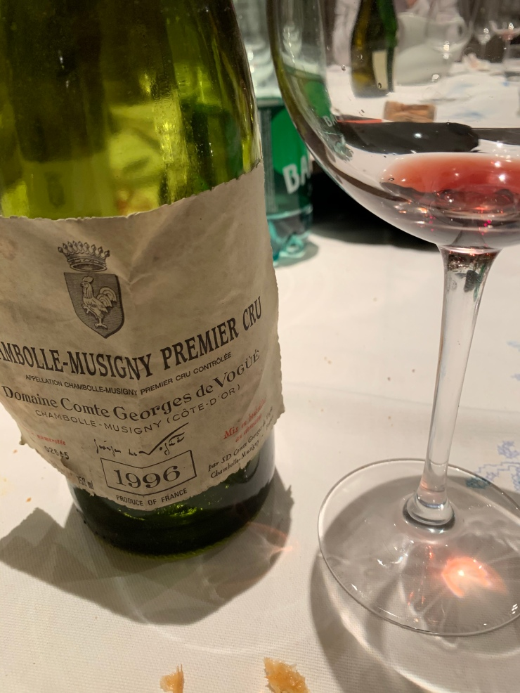 Chambolle Musigny Premier Cru 1996