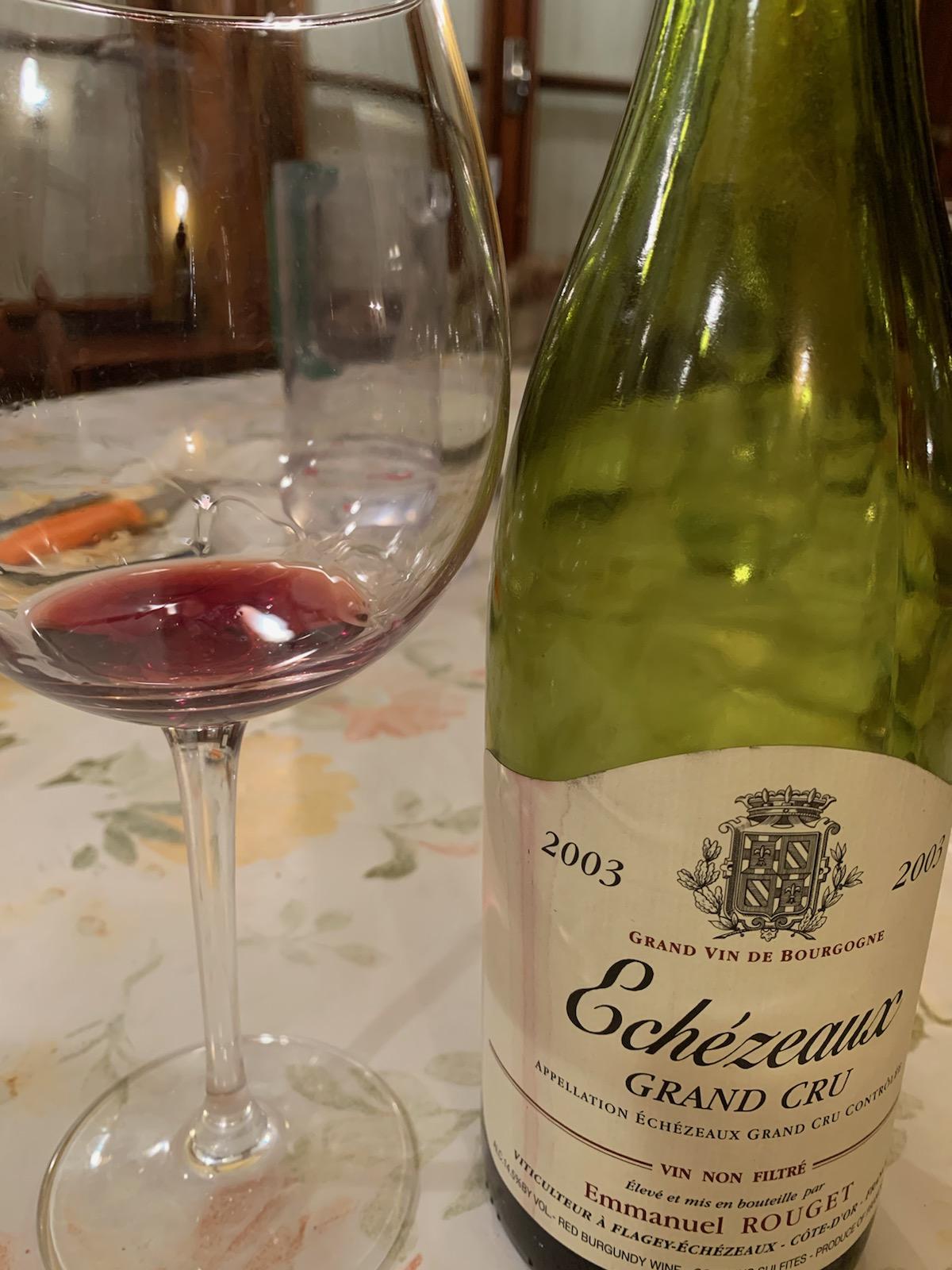 Echézeaux 2003 Rouget