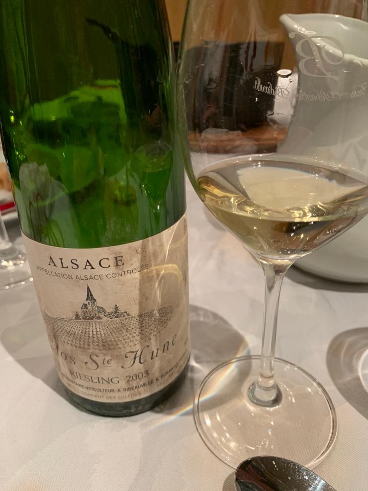 Alsace Clos Ste Hune 2003