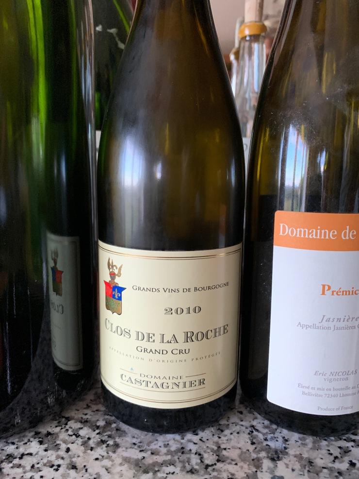 Clos de La Roche Grand Cru 2010 - Domaine Castagnier