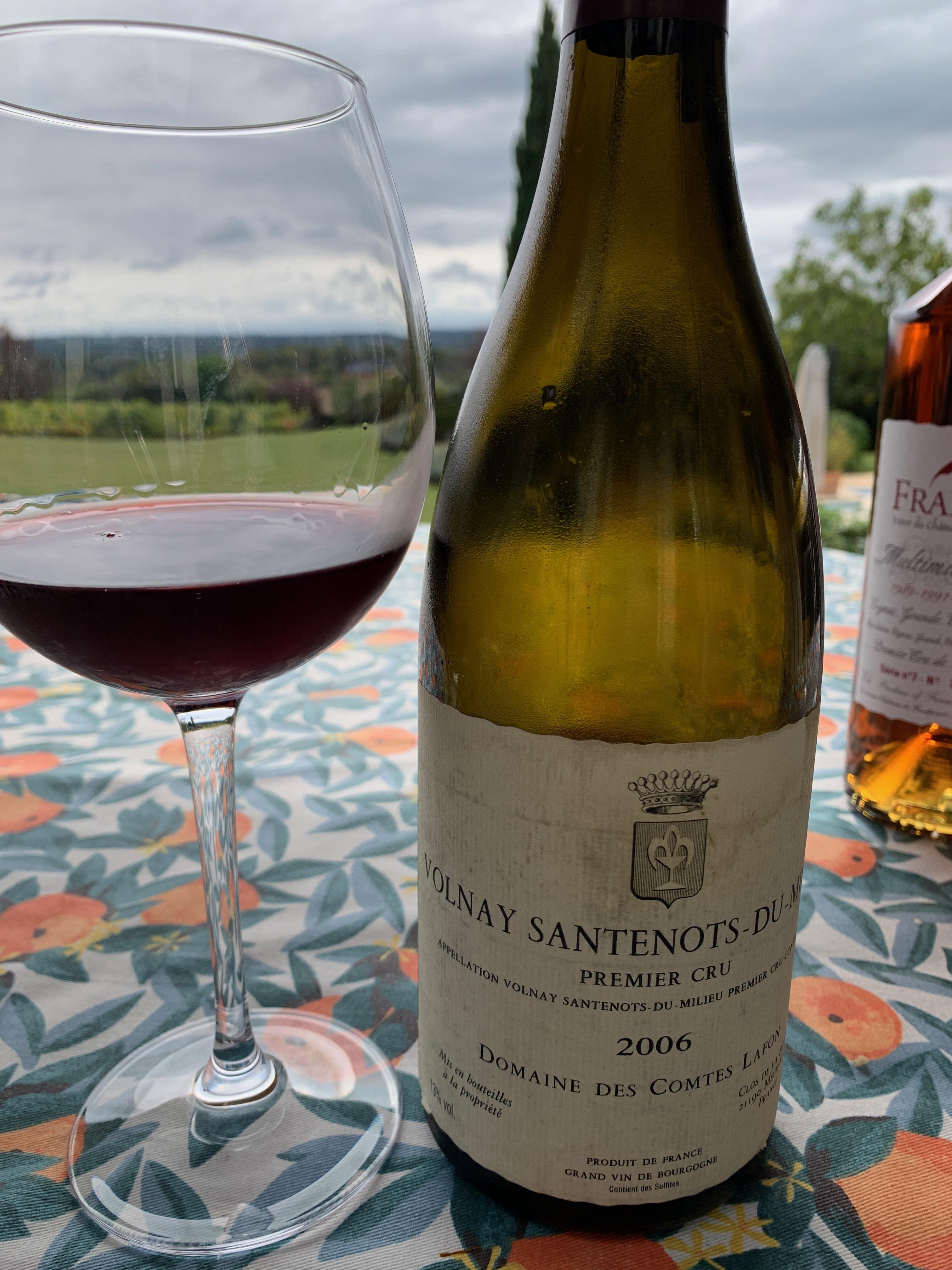 Volnay Santenots-du-Milieu Premier Cru 2006 - Domaine des Comtes Lafon