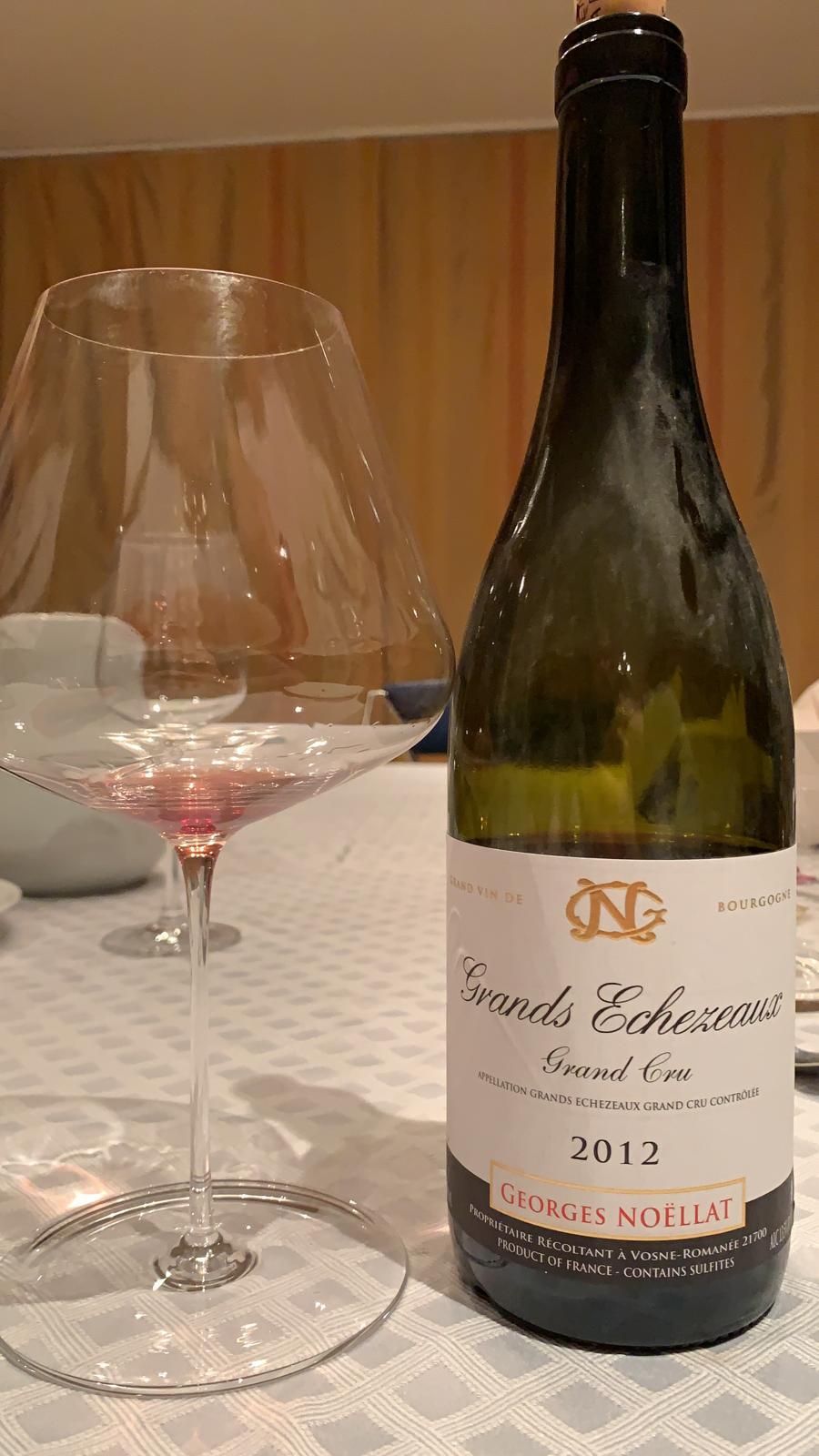 Grands Echezeaux Grand Cru 2012 - Domaine Noëllat