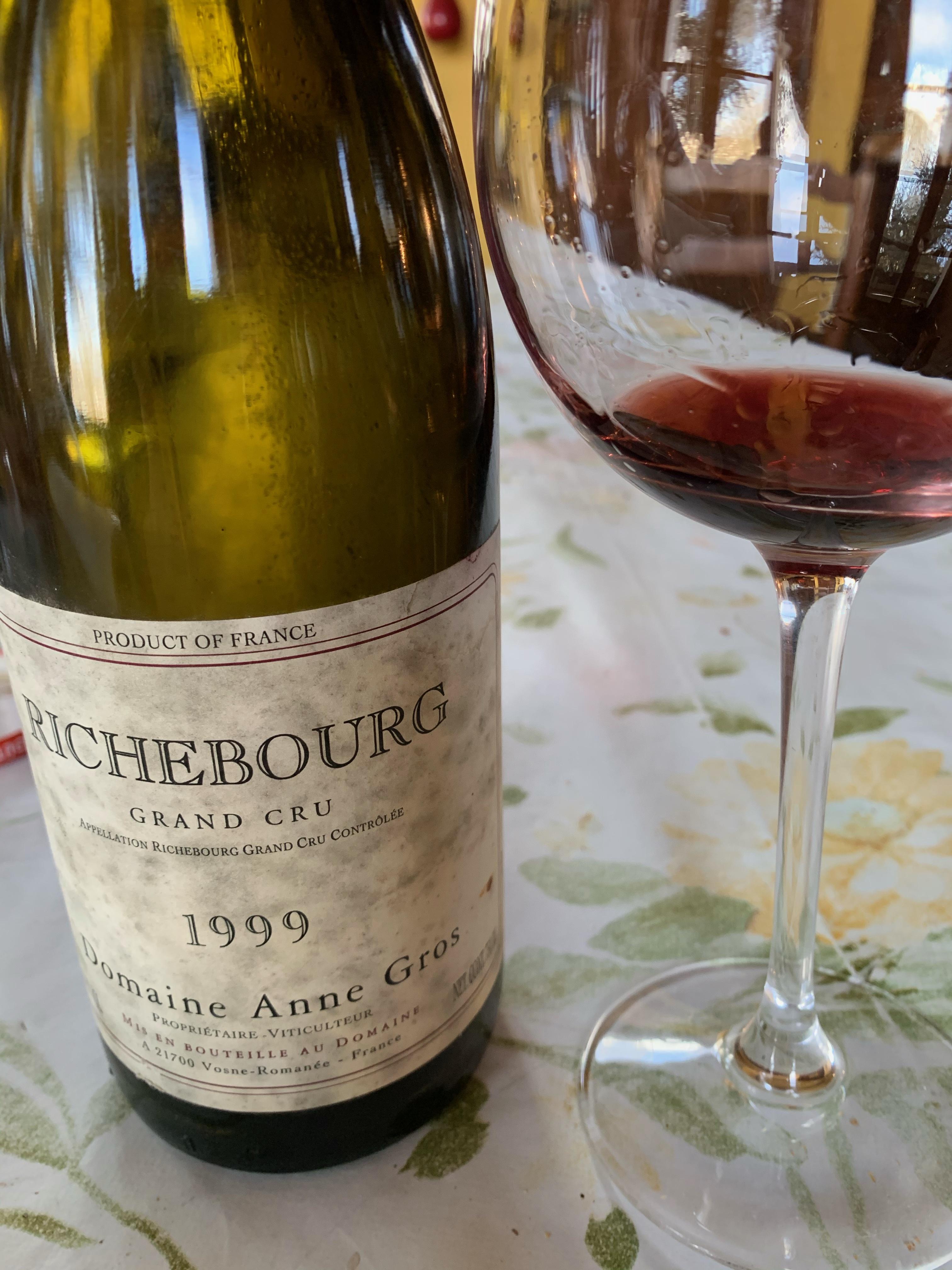 Richebourg Grand Cru 1999 - Domaine Anne Gros