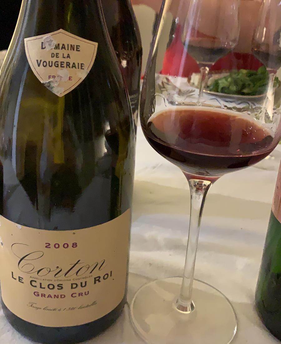 Corton Grand Cru Le Clos du Roi 2008 - Domaine de la Vougeraie